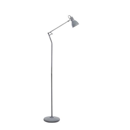 Eenvoudige staande leeslamp betonlook