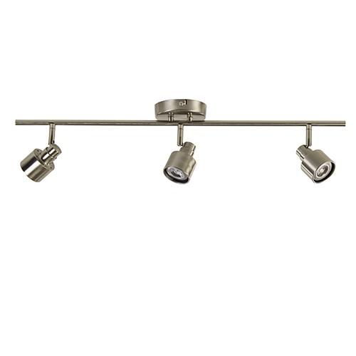 Stalen plafondspot LED modern 3-lichts
