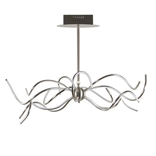 Design eettafel hanglamp LED staal
