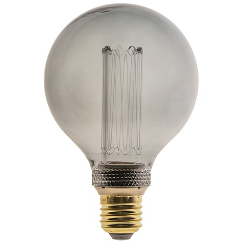 3-standen dimbare LED lamp 4,5W Smoke G95