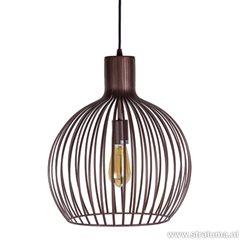 Trendy hanglamp Terme brons eettafel