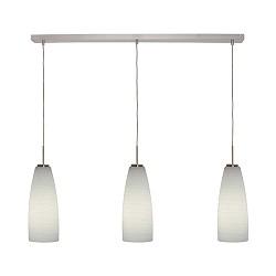 Valenso moderne hanglamp glas eettafel