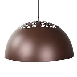 *Bruine ronde hanglamp Bella keuken-ta