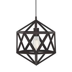 Moderne hanglamp Cubo klein zwart