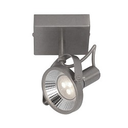 **Industriele plafondspot-lamp LED staal