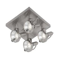 Industriële plafondspot/lamp LED staal
