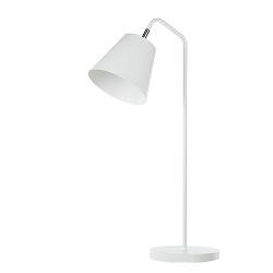 *Scandinavisch tafellamp wit nachtkastj