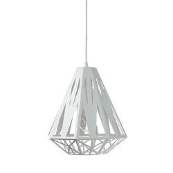*Scandinavische hanglamp wit grafisch