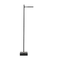Moderne LED vloerlamp-leeslamp zwart