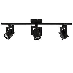 3-Lichts LED plafondspot zwart