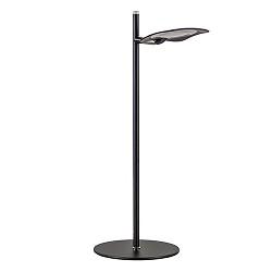 Dimbare LED tafellamp zwart kantoor