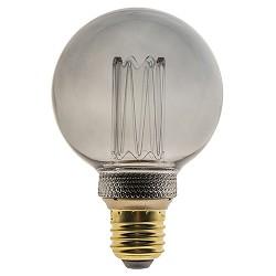 3-standen dimbare LED lamp E27 G80 smoke