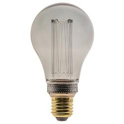 3-standen LED lamp 5 watt E27 smoke A60