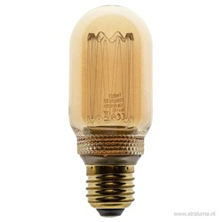 3-standen Led lamp 5 watt gold E27 T45