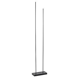 Moderne LED vloerlamp dimbaar mat zwart