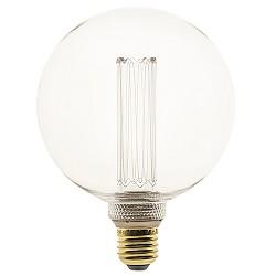 3-standen dimbare LED lamp globe 4,5W helder G125