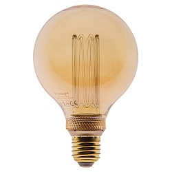 3-standen dimbare LED lamp 4,5W gold G95