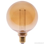 Led 5w e27 globe 125mm gold 3-st. dimb.