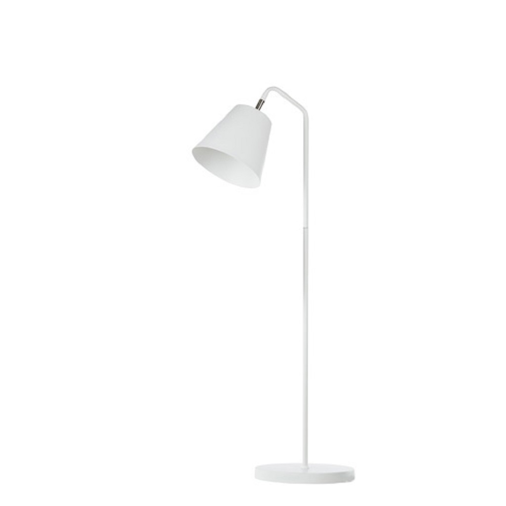 Welp Scandinavische vloerlamp woonkamer wit | Straluma XX-19
