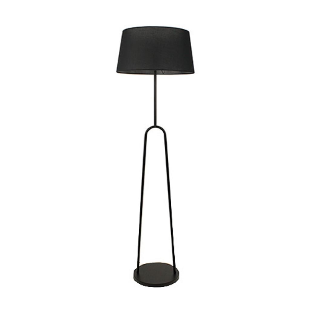 Super Scandinavische vloerlamp modern zwart | Straluma OE-77