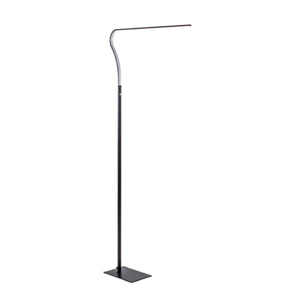 *Design vloerlamp-leeslamp Rocco zwart
