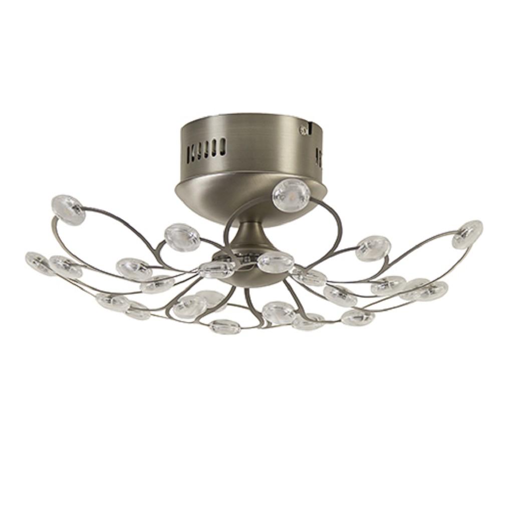 LED plafonnière incl. 3-standen dimmer