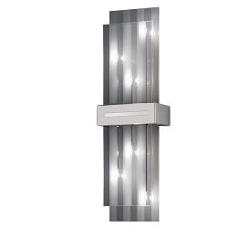 *Design wandlamp Palazzo nikkel chroom