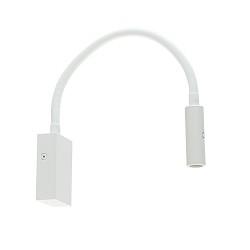 Witte LED wandlamp met flexibele arm