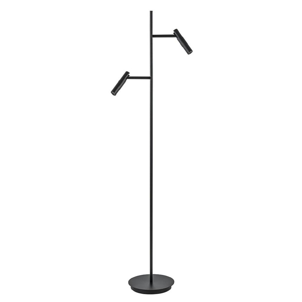 2-Lichts vloerlamp met 3-standen dimbaar LED