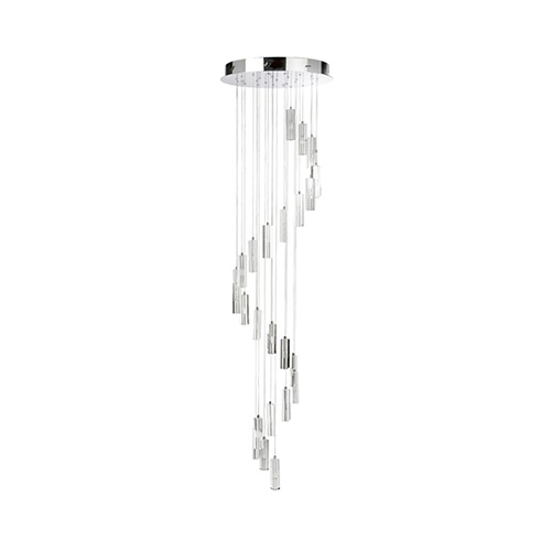Chique vide-plafondlamp modern kristal