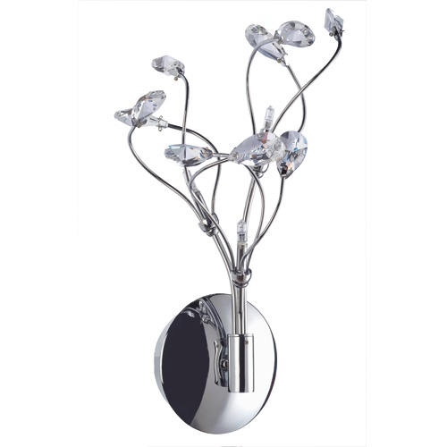 Wandlamp Glossy kristal romantisch