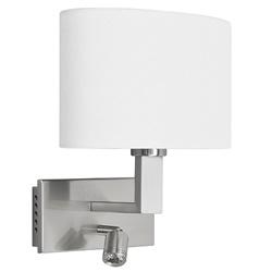 Wandlamp New Oval met leeslamp led