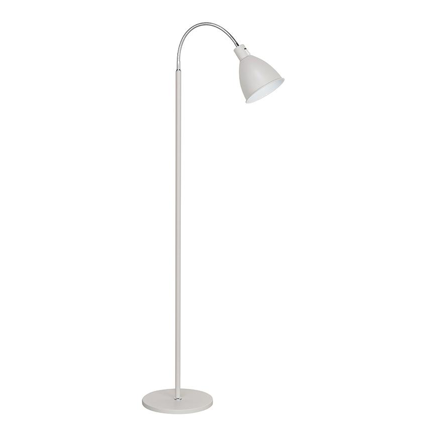 Staande lamp flexibele stang creme