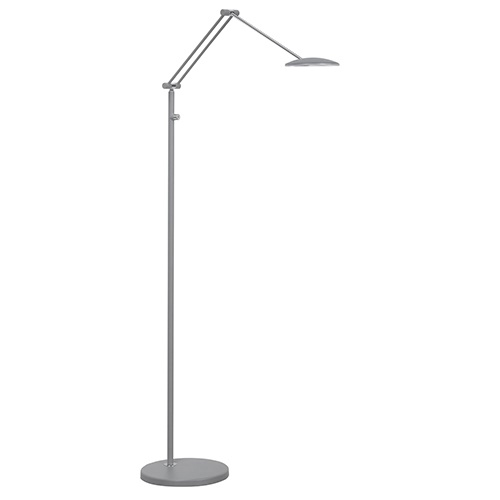 LED leeslamp grijs verstelbaar en dimbaar