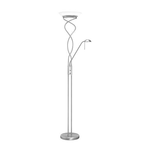 Staande lamp New Empoli staal leeslamp
