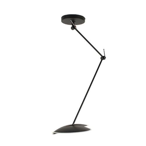 Moderne LED hanglamp verstelbaar zwart