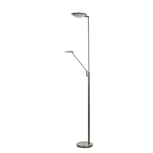 Moderne staande lamp leesarm LED