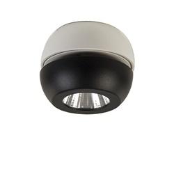 Moderne LED spot zwart/wit verstelbaar