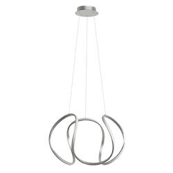 Design Hanglamp XL LED zilver