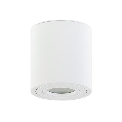 Plafondspot cilinder wit gu10 IP44