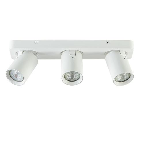 3-Lichts verstelbare opbouwspot GU10 mat wit