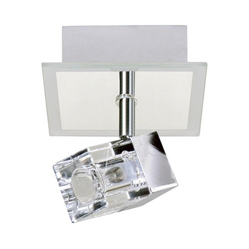 Moderne vierkante opbouwspot badkamer | Straluma