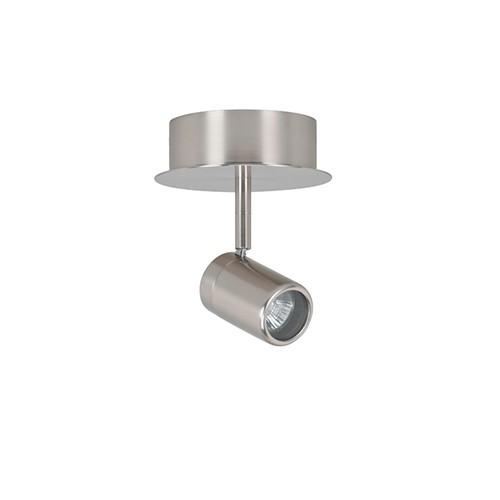 Badkamer spot Shower nikkel 1 lichts | Straluma