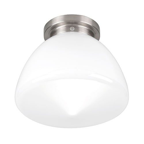 Plafondlamp Glasgow art deco chroom glas