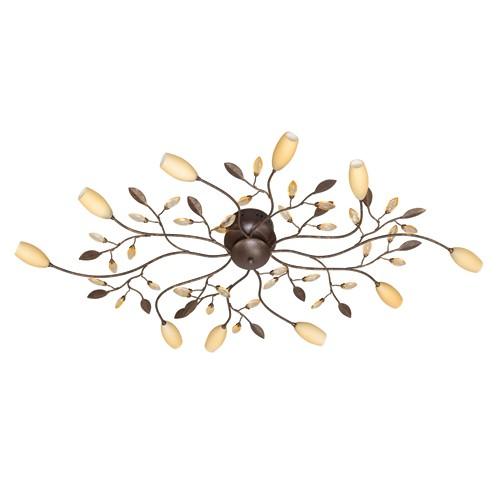 Klassieke plafondlamp Grosseto halogeen