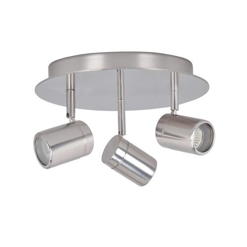 Badkamerlamp spot IP44 Shower staal | Straluma