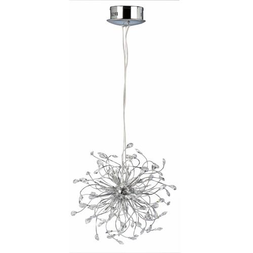 Hanglamp Glossy geslepen kristal modern