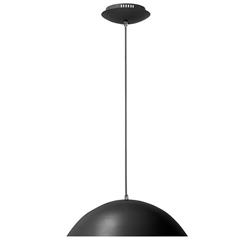 *LED Hanglamp Dome keuken zwart