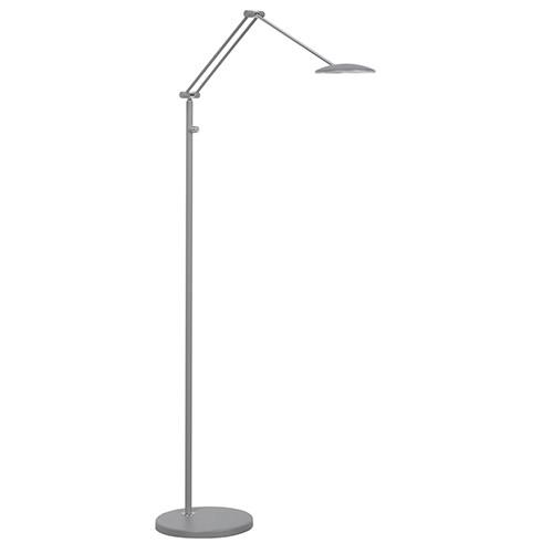 LED leeslamp grijs verstelbaar/dimbaar