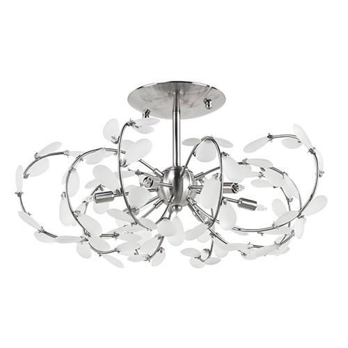 Romantische plafondlamp blad slaapkamer | Straluma